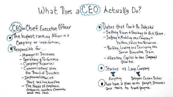 مدیر ارشد اجرایی (CEO)