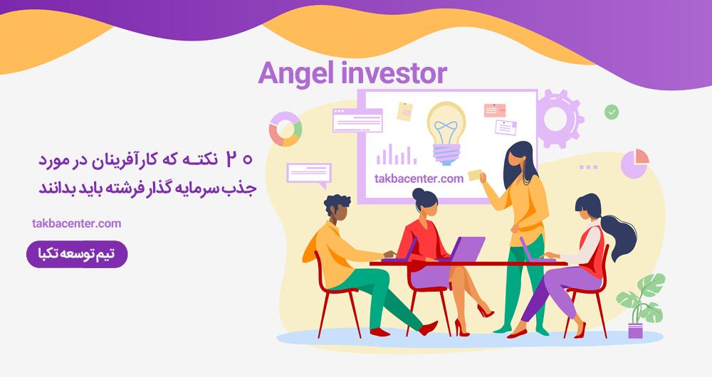 سرمایه گذار فرشته