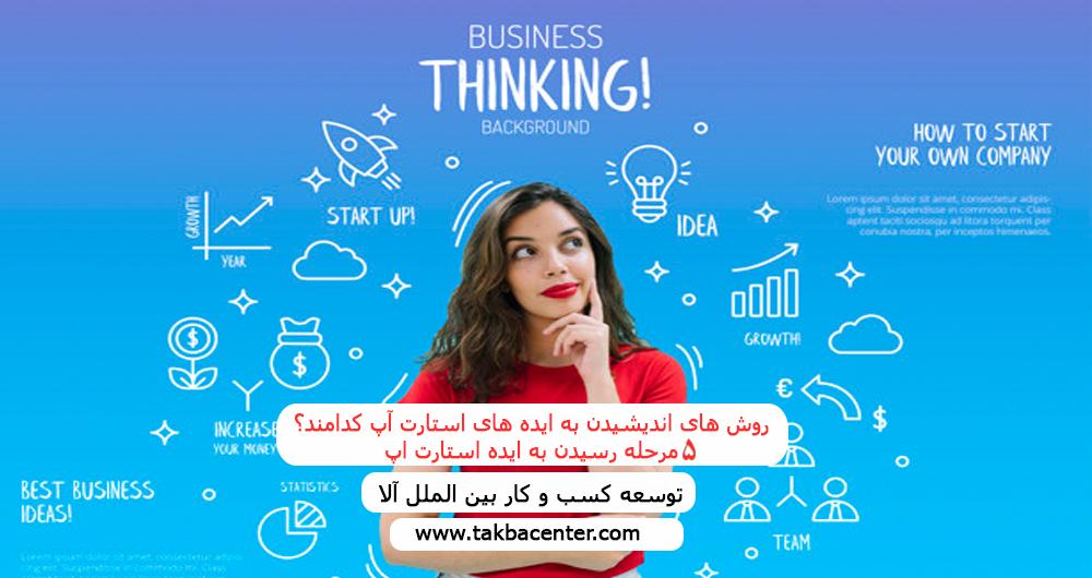 روش های اندیشیدن به ایده های استارت آپ کدامند؟ ۵ مرحله رسیدن به ایده استارت اپ