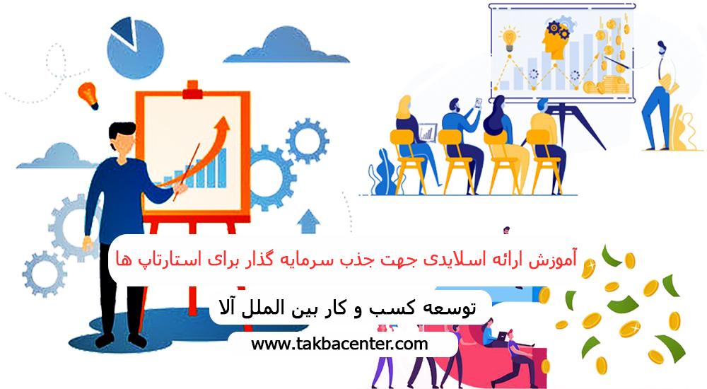 آموزش ارائه اسلایدی جهت جذب سرمایه گذار برای استارتاپ¬ها